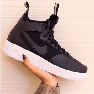 NWT Nike Air Force 1 Ultraforce Black